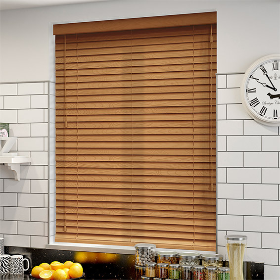 Wood Venetians | Products | Custom Blinds & Curtains